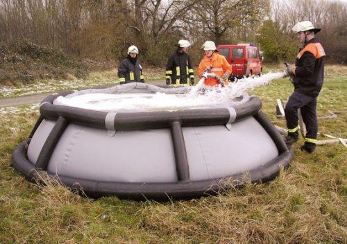 Pneumatski spremnik za opasne tvari.