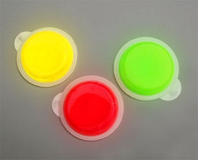 Svjetleći samoljepljivi okrugli Snaplight S.O.S.