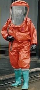 Respirex GTB/GTVB trajno plinonepropusno odijelo, tip 1a