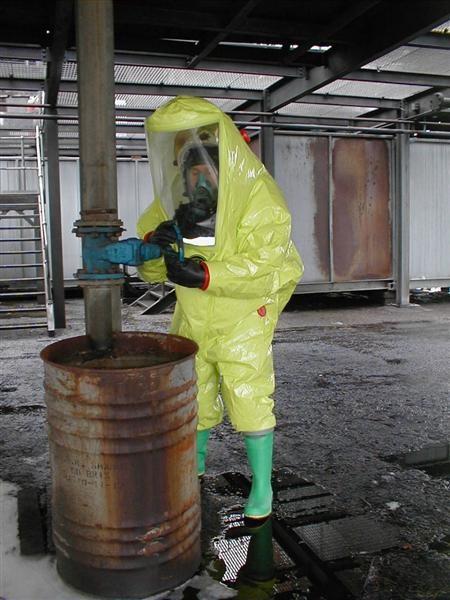 Tychem.TK plinonepropusno odijelo ograničene upotrebe, tip 1a