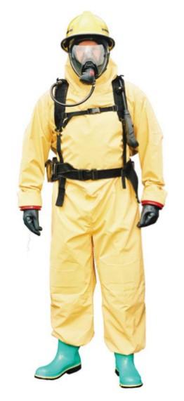 SC1 trajno neoprensko kemijsko odijelo, tip 3